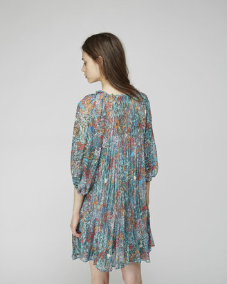 Tsumori Chisato sea flower chiffon dress
