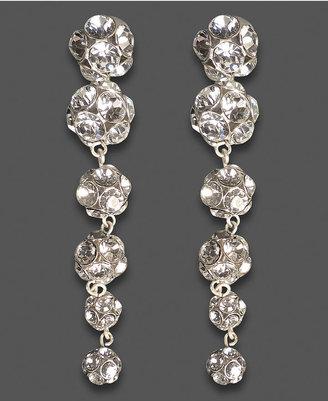 Jessica Simpson Earrings, Crystal Ball Dangle