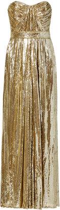 Badgley Mischka Screen Siren Gown