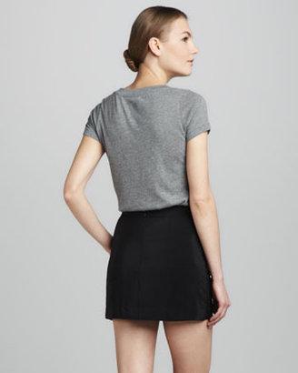 Amanda Uprichard Fitted Miniskirt