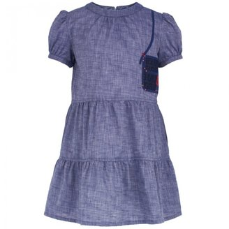 Fendi Chambray Handbag Dress