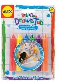 Alex Bath Draw In The Tub Crayons