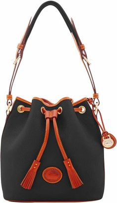 Dooney & Bourke All Weather Leather 2 Medium Drawstring