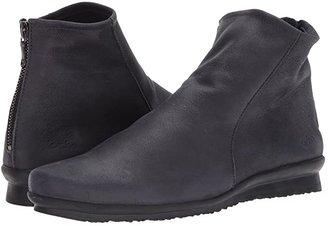 Arche Baryky (Noir Deer Skin Leather) Women's Zip Boots