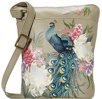 Anuschka Two Sided Zip Travel Organizer 493 (Guiding Light) Cross Body Handbags