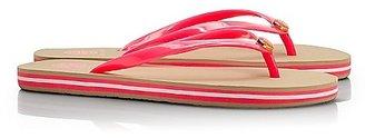 Tory Burch Striped Flip Flop