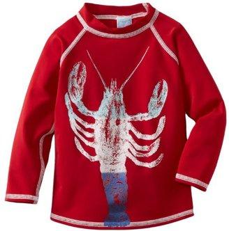 Charlie Rocket Boys 8-20 Long Sleeve Graded Lobster Rashguard