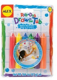 Alex Bath Draw In The Tub Crayons
