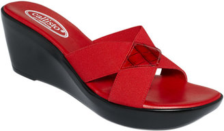 Callisto Shoes, Aura Wedge Sandals