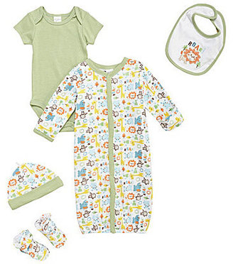 Starting Out Newborn 5-Piece Jungle Animals Set
