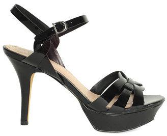 Vince Camuto Toleo Black Patent Heel