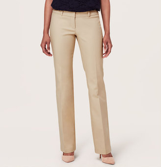 LOFT Tall Doubleweave Cotton Sexy Boot Pants in Julie Fit