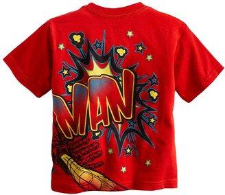Iron Man wraparound graphic tee - toddler