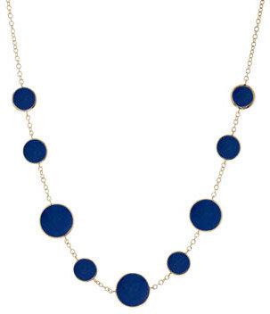 Ippolita Rock Candy Circle Lapis Necklace