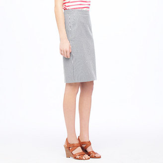 J.Crew No. 2 pencil skirt in seersucker