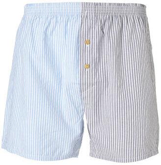 Topman Striped Woven Underwear