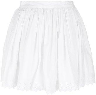 Ralph Lauren Denim & Supply embroidered eyelet mini skirt