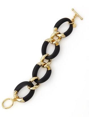 Alexis Bittar Neo Boho Lucite Toggle Bracelet, Black