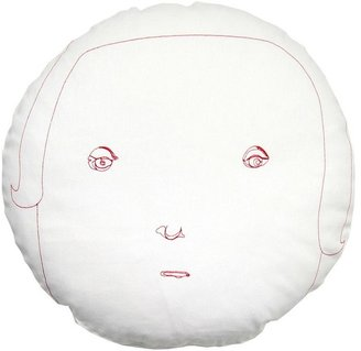 K Studio Female Round Face Pillow