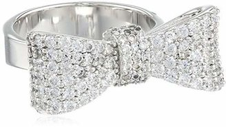King Baby Bow Ring Pave Cubic Zirconia, Size 7 $265.96 thestylecure.com