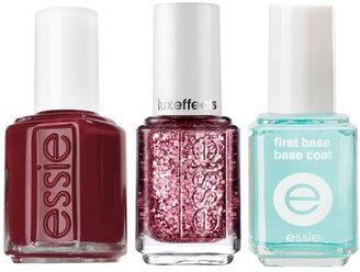 Essie 'Razzle Dazzle Manicure - Red' Nail Trio