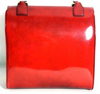 Prada excellent (EX Rust Leather Satchel Bag