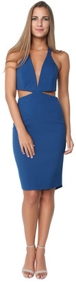 Mason by Michelle Mason - Cut Out Plunge Dress $595 thestylecure.com