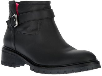 Fendi buckled ankle boot
