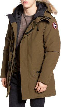 5485c227244 Canada Goose Langford Slim Fit Down Parka with Genuine Coyote Fur Trim