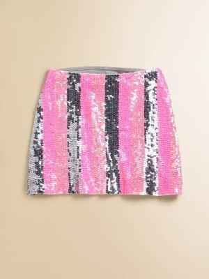 Flowers by Zoe Girl's Sequin Skirt