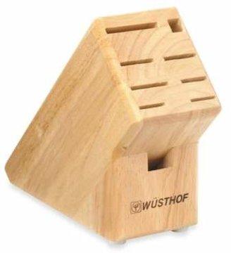 Wusthof 9-Slot Wood Knife Block