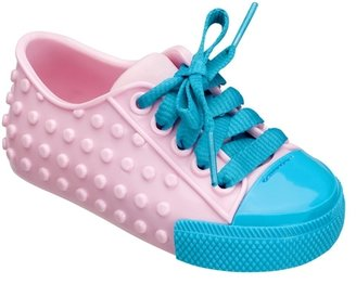 Melissa Shoes - Mini Melissa Polibolha - Pink/Blue