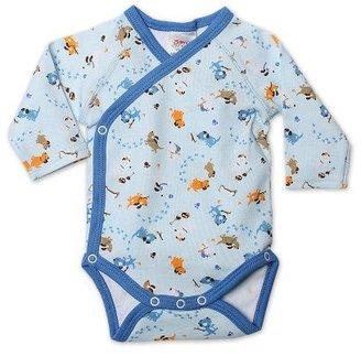 Zutano Baby-Boys Newborn Have A Ball Long Sleeve Body Wrap