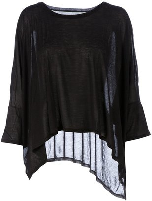 Enza Costa boxy waterfall top
