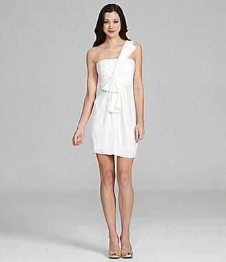 BCBGMAXAZRIA One-Shoulder Dress