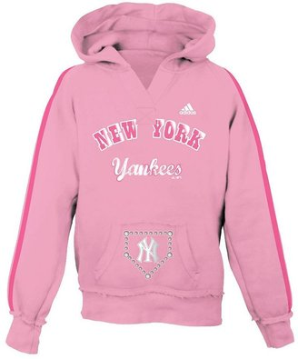 New York Yankees Adidas hoodie - girls 7-16