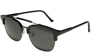 RetroSuperFuture Super Sunglasses 49er in Black