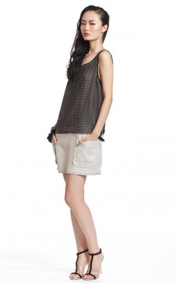 Tracy Reese Perforated Shift