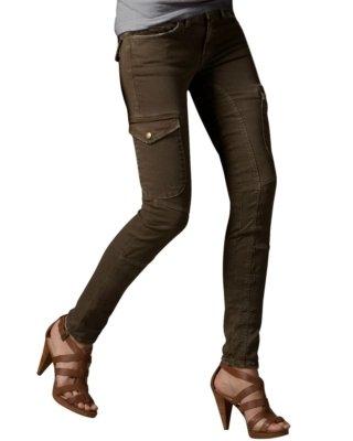 Current/Elliott Current/Elliot Skinny Twill Cargo Pants