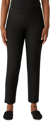 Eileen Fisher Plus Size Slim Ankle Pant with Yoke