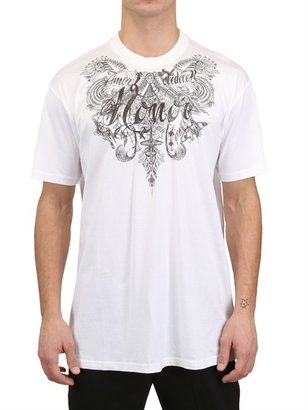 Givenchy Tattoo Honor Jersey Oversized T-Shirt