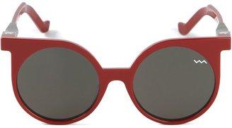 Vava 'WL001' round sunglasses $495.19 thestylecure.com