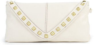 Vince Camuto Jac Clutch Off White