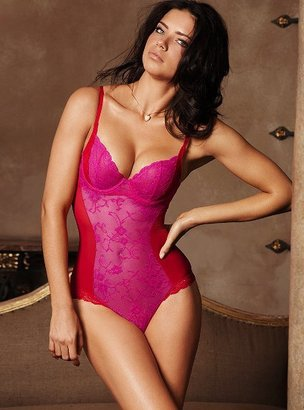 Victoria's Secret Sheer Lace Teddy