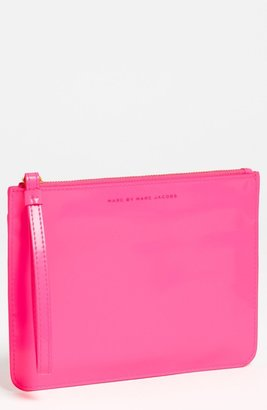 Marc by Marc Jacobs 'It's Back' Wristlet Pouch Knockout Pink