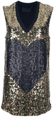 Philipp Plein metallic dress