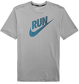 Nike Running Swoosh Crewneck T-Shirt