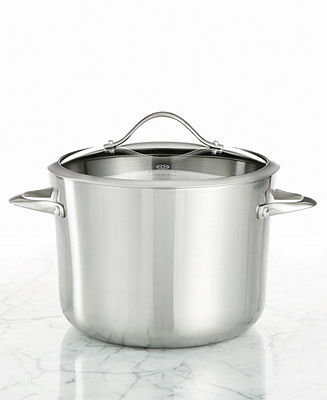 Calphalon Contemporary Stainless Steel 8 Qt. Covered Stockpot
