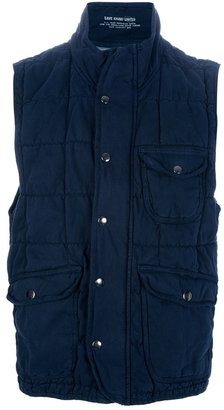 Save Khaki United Quilted gilet
