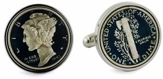 David Donahue 'Mercury Dime' Cuff Links